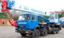 Аренда автокрана Галичанин КС-55729-1В, 32 тонн