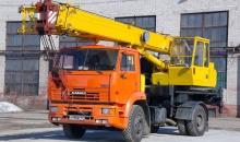 Аренда автокрана Ивановец КС-35714К-3, 16 тонн