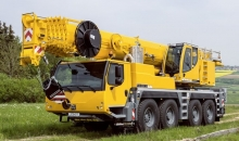 Аренда автокрана LIEBHERR LTM 1090, 90 тонн