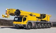 Аренда автокрана LIEBHERR LTM 1150, 150 тонн