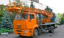 Аренда автовышки КамАЗ 43253